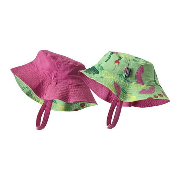 パタゴニア(patagonia) Baby Sun Bucket Hat(ベビー サン バケツ ハット) 66076 ハット(ジュニア・キッズ・ベビー)