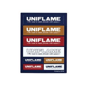 ユニフレーム(UNIFLAME) UFステッカー コンボ 690109