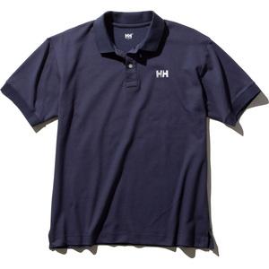 HELLY HANSEN(ヘリーハンセン) Men's S/S HH Logo Polo(ショートスリーブ HH ロゴ ポロ)メンズ HH32002 メンズ半袖シャツ