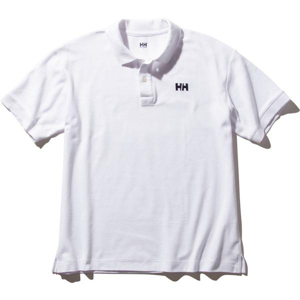 HELLY HANSEN(ヘリーハンセン) S/S HH Logo Polo(ショートスリーブ HH ロゴ ポロ)Men's HH32002 メンズ半袖シャツ