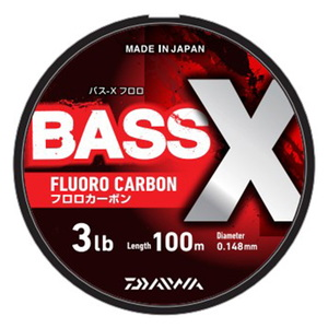 ダイワ(Daiwa) バス-X フロロ 100m 0.8号/3lb ナチュラル 07303481