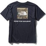 THE NORTH FACE(ザ・ノースフェイス) S/S LOGO CAMO TEE(ショートスリーブ ロゴ カモ ティー) Men's NT32035 メンズ速乾性半袖Tシャツ