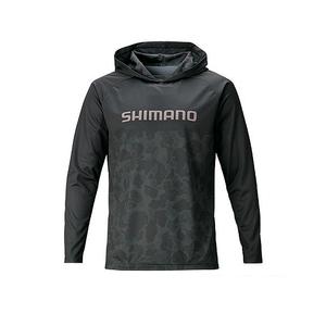 シマノ(SHIMANO) WJ-044T サンプロテクション プリントフーディ 67796 フィッシングシャツ