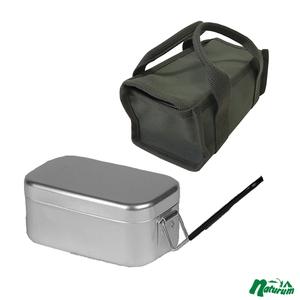 スプラッシュ フラッシュ(SPLASH FLASH) メスティン+八号帆布 飯盒箱 カーキ(メスティンケースレーギュラー)