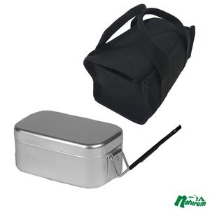 スプラッシュ フラッシュ(SPLASH FLASH) メスティン+八号帆布 飯盒箱 ブラック(メスティンケースレーギュラー)