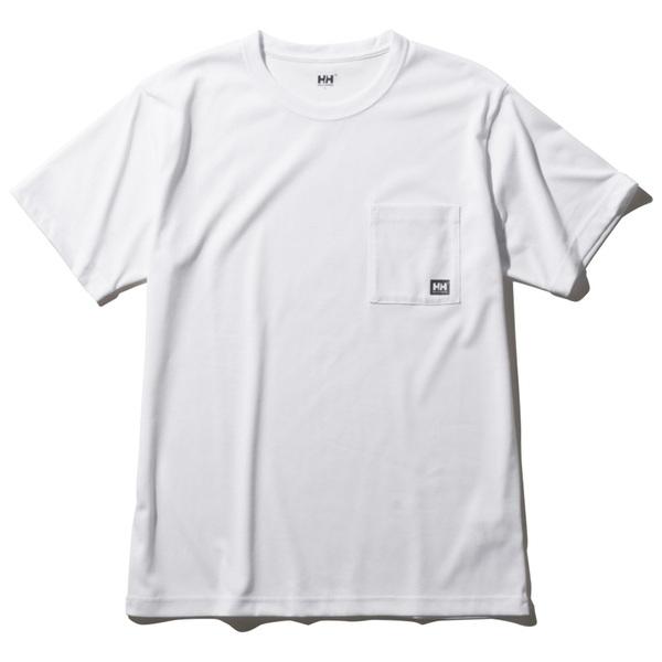 HELLY HANSEN(ヘリーハンセン) S/S Logo Pocket Teee(ショートスリーブ ロゴ ポケット ティー)Men's HOE62007 メンズ速乾性半袖Tシャツ