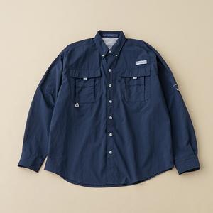 Columbia(コロンビア) 【21春夏】M Bahama II L/S Shirt(バハマ ロングスリーブ シャツ)メンズ FM7048 メンズ速乾性長袖シャツ