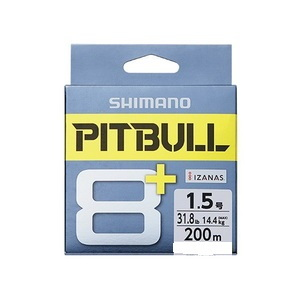 シマノ(SHIMANO) LD-M61T PITBULL(ピットブル) 8+ 200m 0.6号 トレーサブルピンク 69471