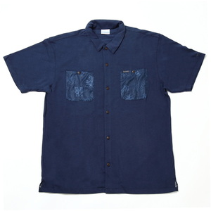 【送料無料】Columbia(コロンビア) Polar Pioneer SS Shirt(ポーラーパイオニアショートスリーブシャツ)メンズ M 470(Flower Timberwolf) PM6513