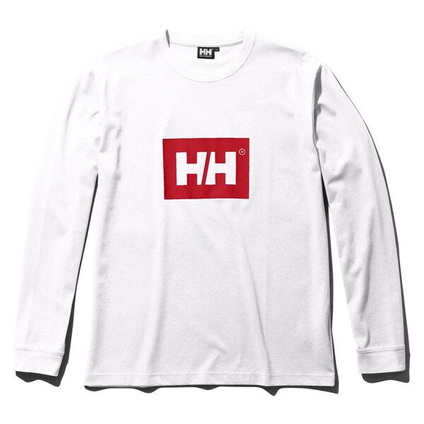 HELLY HANSEN(ヘリーハンセン) L/S SOLID LOGO TEE(ロングスリーブ ソリッド ロゴ ティー) HE31960 メンズ長袖Tシャツ