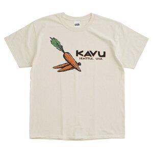KAVU(カブー) キャロット Tee Men's L ナチュラル 19821229017007