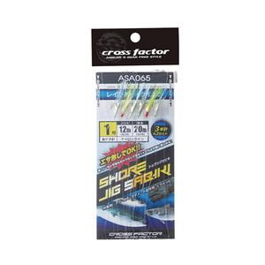 クロスファクター(CROSS FACTOR) ショアジグサビキ ASA065-1