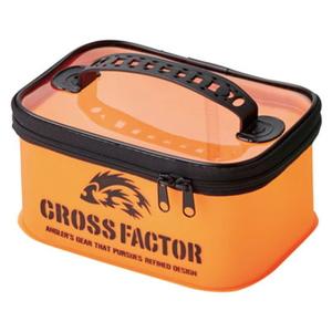 クロスファクター(CROSS FACTOR) EVAカラーシステムケース 25cm オレンジ AEM704-25OR