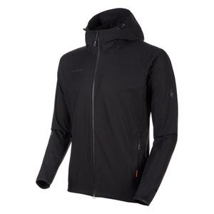 【送料無料】MAMMUT(マムート) GRANITE SO Hooded Jacket AF Men's M 0001(black) 1011-00321