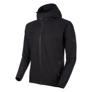 【送料無料】MAMMUT(マムート) GRANITE SO Hooded Jacket AF Men's L 0001(black) 1011-00321