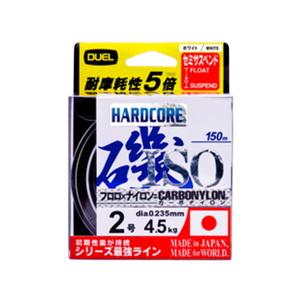 デュエル(DUEL) HARDCORE(ハードコア) ISO CN 150m 3号 O(高視認オレンジ) H3403-O