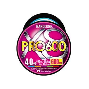 デュエル(DUEL) HARDCORE X8 PRO(ハードコア X8プロ) 600m H3952