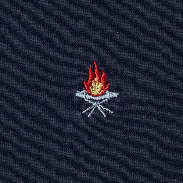 ユニフレーム(UNIFLAME) 【ユニフレーム×ナチュラム】7.1オンス へヴィーウェイトTシャツ URNT-4 メンズ半袖Tシャツ