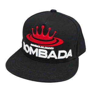 BOMBA DA AGUA(ボンバダアグア) ラバーロゴビッグフラットキャップ