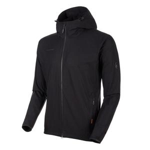 【送料無料】MAMMUT(マムート) GRANITE SO Hooded Jacket AF Men's S 0001(black) 1011-00321