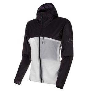【送料無料】MAMMUT(マムート) Convey WB Hooded Jacket AF Men's L 00226(black×bright white) 1012-00190