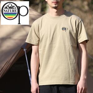 オーシャンパシフィック(Ocean Pacific) 【OP×ナチュラム】5.6オンス プリント Tシャツ 刺繍 599005-R