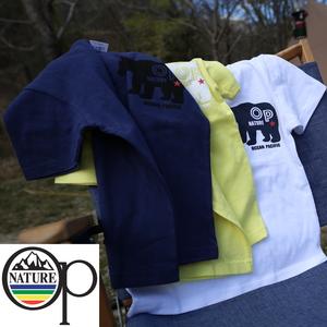 オーシャンパシフィック(Ocean Pacific) 【OP×ナチュラム】Kid's 5.6オンス プリント Tシャツ くま 横 599013-R