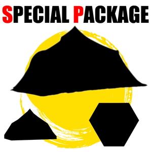 ナチュラム *連なる雪山のようなワンポールシェルター+小物2種【お買い得(秘)パッケージ】