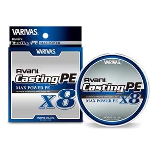 モーリス(MORRIS) VARIVAS アバニ キャスティングPE マックスパワー X8 300m 1.5号