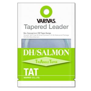 モーリス(MORRIS) VARIVAS テーパードリーダー DH/サーモン TAT ナイロン 18ft 1X ナチュラルグリーン
