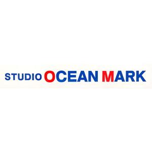 スタジオオーシャンマーク ステッカー カッティング LOGO-M001