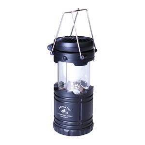 OGK(大阪漁具) ランタン扇風機 最大80ルーメン 単三電池式 L ブラック OG101LK