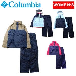 Columbia(コロンビア) シンプソン サンクチュアリー II ウィメンズ レインスーツ PL0016 レインスーツ(レディース上下)