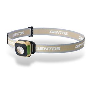 GENTOS(ジェントス) CP コンパクトヘッドライト 最大260ルーメン リチウムポリマー充電池式 オータムブラウン CP-260RAB