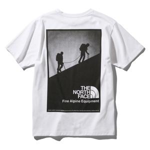 THE NORTH FACE(ザ・ノースフェイス) ショートスリーブ ハーフ ドーム ファイン アルパイン イーキュー ティー Men's M W(ホワイト) NT32048
