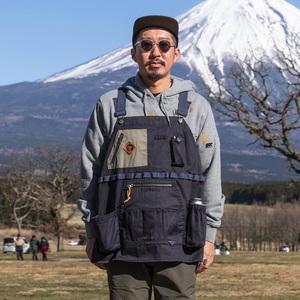 ジーアールエヌアウトドア(grn outdoor) HIASOBI CAMPER VEST GO0218Q