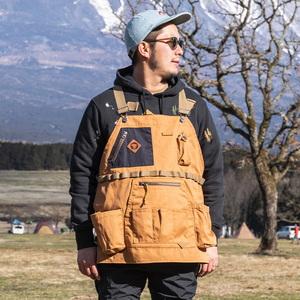 ジーアールエヌアウトドア(grn outdoor) HIASOBI CAMPER VEST GO0218Q フィールドベスト