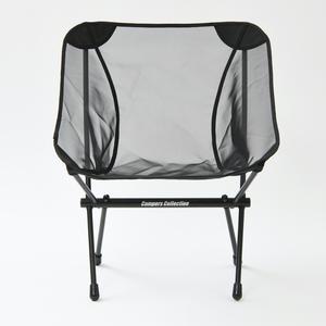 【送料無料】CampersCollection(キャンパーズコレクション) タフライトコンパクトチェア BK TLCC-01