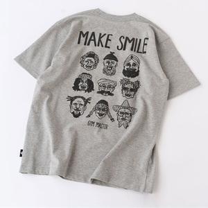 gym master(ジムマスター) MAKE SMILE Tee G433602