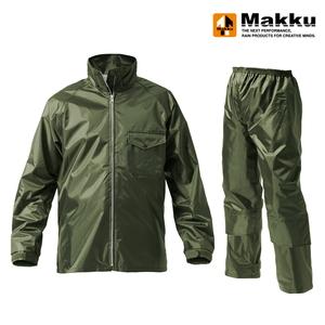 マック(Makku) ワークス レインスーツ ユニセックス AS-4400
