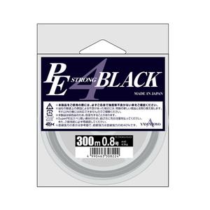 ヤマトヨテグス(YAMATOYO) PEストロング4 ブラック 300m