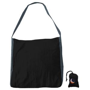 チケットトゥザムーン(TICKET TO THE MOON) パラシュート エコマーケットバッグ 20L ブラック×ダークグレー TM-BAG-BD