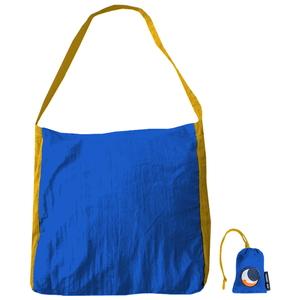 チケットトゥザムーン(TICKET TO THE MOON) パラシュート エコマーケットバッグ 20L ブルー×ダークイエロー TM-BAG-BL