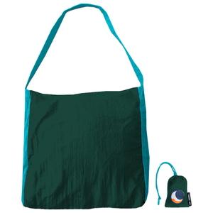 チケットトゥザムーン(TICKET TO THE MOON) パラシュート エコマーケットバッグ 20L ダークグリーン×ターコイズ TM-BAG-GR