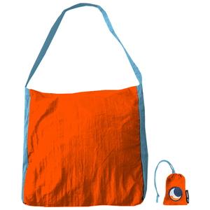 チケットトゥザムーン(TICKET TO THE MOON) パラシュート エコマーケットバッグ 20L オレンジ×スカイブルー TM-BAG-OR
