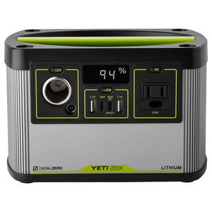 【送料無料】GoalZero(ゴールゼロ) YETI 200X 120V POWER STATION 22070