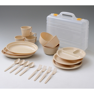 CampersCollection(キャンパーズコレクション) デイパーティー食器セット PCW-12 テーブルウェアセット