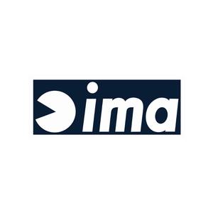 アムズデザイン(ima) ima Logo-Sticker(ロゴ-ステッカー) 100mm ホワイト 4003021