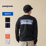 パタゴニア(patagonia) メンズ ロングスリーブ P-6ロゴ レスポンシビリ ティー 38518 メンズ長袖Tシャツ