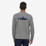 パタゴニア(patagonia) メンズ ロングスリーブ フィッツロイ トラウト レスポンシビリティー 38516 メンズ長袖Tシャツ